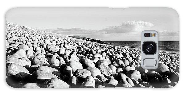 A Beach Of Stones Galaxy Case