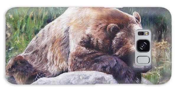 A Bear Of A Prayer Galaxy Case