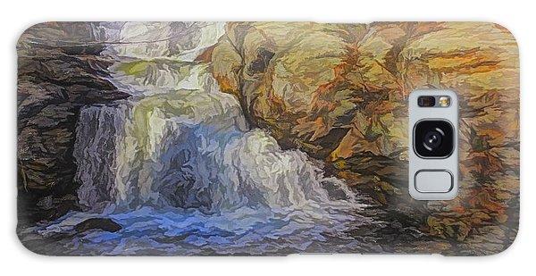 A Beautiful Connecticut Waterfall. Galaxy Case