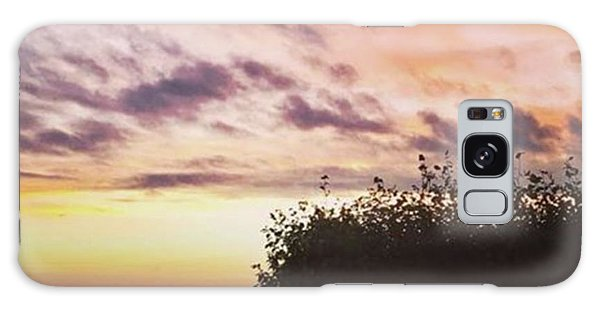 Galaxy Case - A Beautiful Morning Sky At 06:30 This by John Edwards