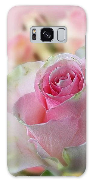 A Beautiful Rose Galaxy Case