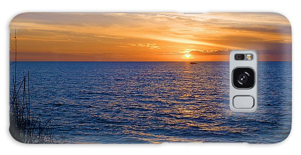 A Beautiful Sunset In Naples, Fl Galaxy Case