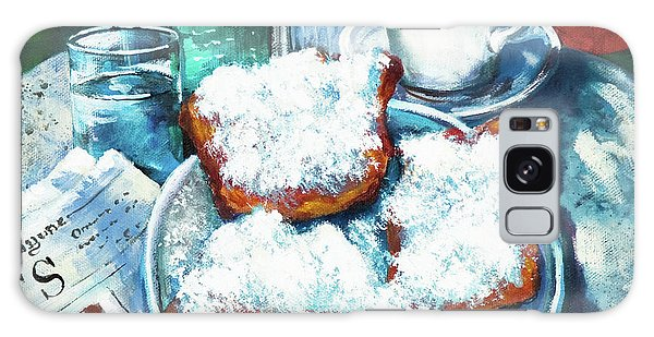 Food Galaxy Case - A Beignet Morning by Dianne Parks