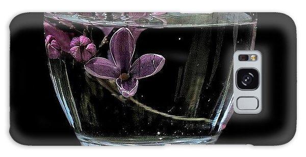A Bowl Of Lilacs Galaxy Case by Marija Djedovic