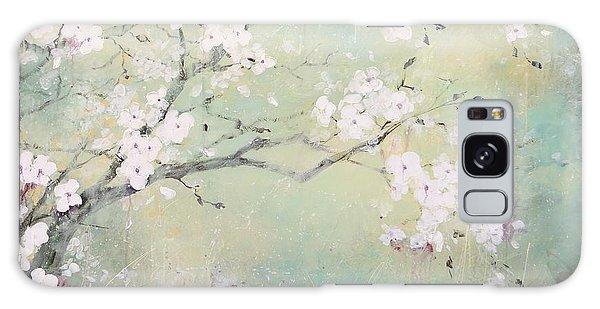 A Breath Of Spring Galaxy Case by Laura Lee Zanghetti