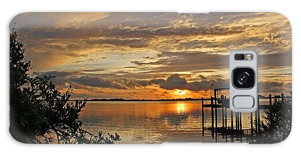 A Brooding Sunset Sky Galaxy Case by HH Photography of Florida