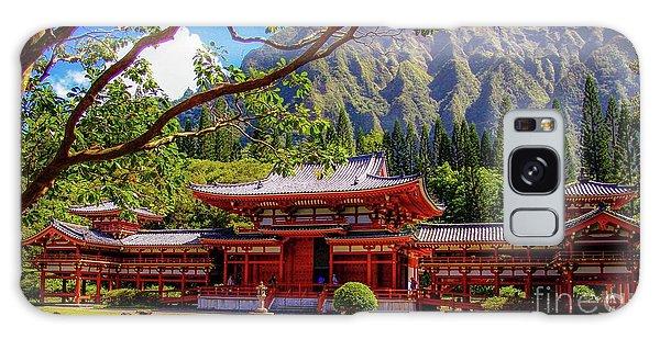 Buddhist Temple - Oahu, Hawaii - Galaxy Case