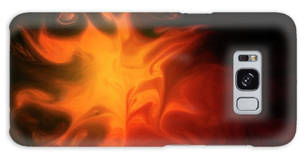 A Burning Passion Galaxy Case