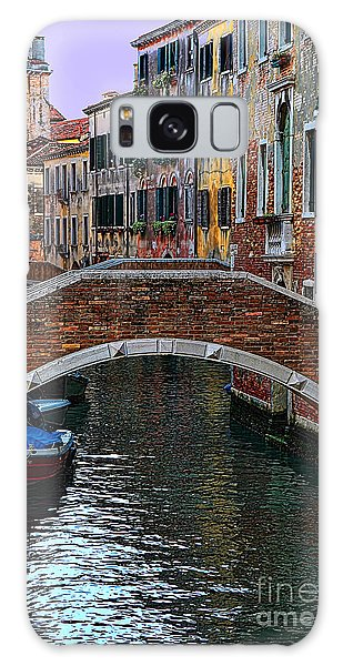 A Canal In Venice Galaxy Case