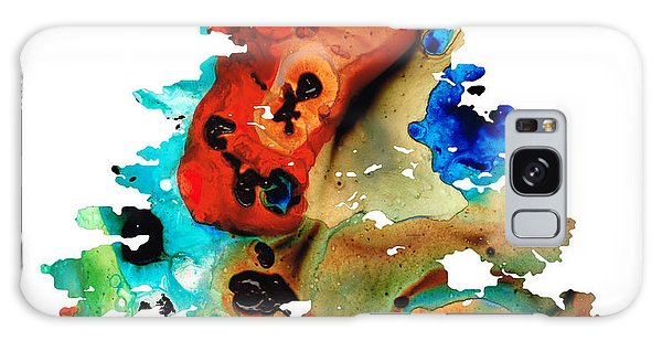 A Certain Kind Of Freedom - Guitar Motorcycle Art Print Galaxy Case