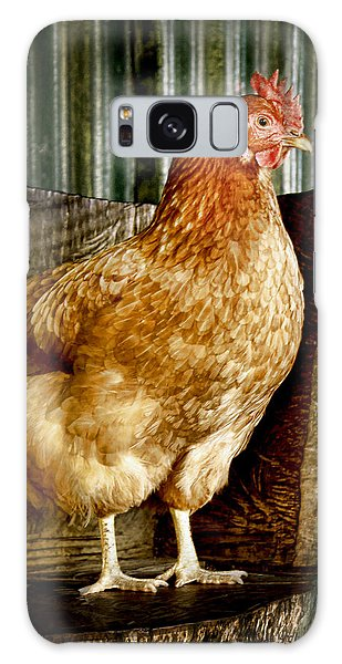 A Chicken Named Rembrandt Galaxy Case