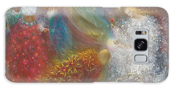Bethlehem Galaxy Case - A Child Is Born by Annael Anelia Pavlova