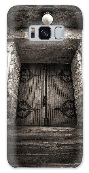 A Church Door Galaxy Case