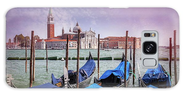 A Classic View Of Venice Italy  Galaxy Case