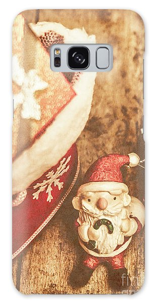 Santa Claus Galaxy Case - A Clause For A Merry Christmas  by Jorgo Photography - Wall Art Gallery