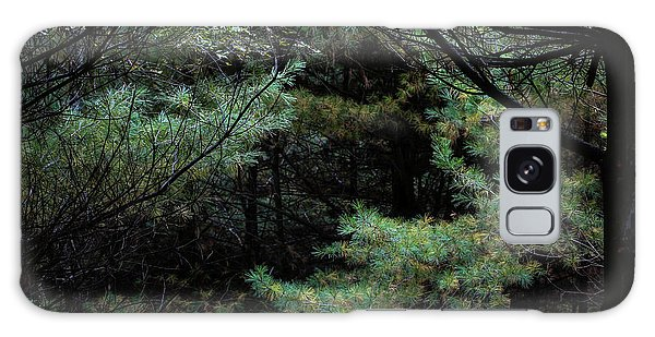 Galaxy Case featuring the photograph A Clearing In The Wild by Kenneth Campbell