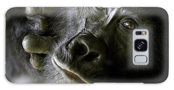 Gorilla Galaxy S8 Case - A Close Up Portrait Of A Mountain by Michael Poliza