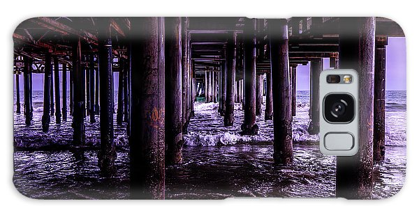 A Cloudy Day Under The Pier Galaxy Case