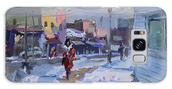 Town Galaxy Case - A Cold Afternoon In Tonawanda by Ylli Haruni