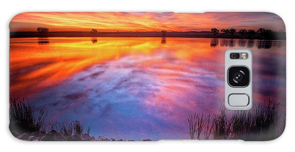 A Colorado Birthday Sunrise Galaxy Case