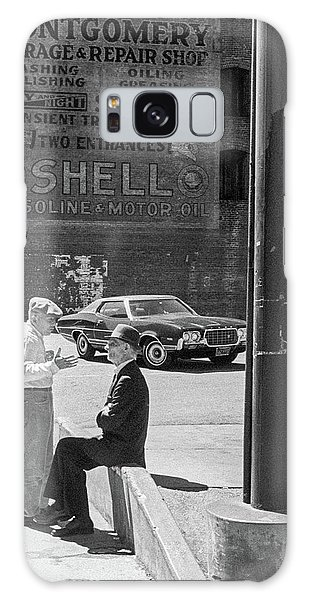 Galaxy Case featuring the photograph A Conversation by Frank DiMarco