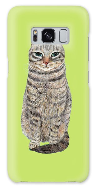 A Cool Tabby Galaxy Case
