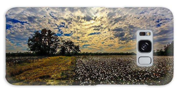 A Cotton Field In November Galaxy Case