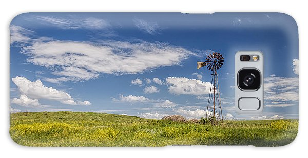 Haybale Galaxy Case - A Country Afternoon by Scott Bean