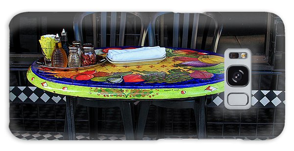 A Cozy Table For Two Galaxy Case