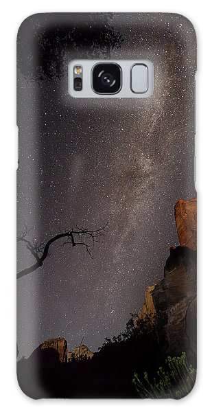 A Dark Night In Zion Canyon Galaxy Case