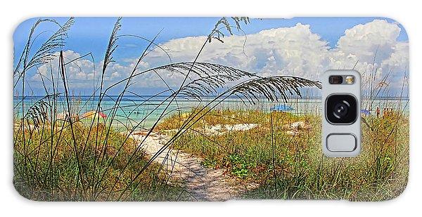 Bradenton Galaxy Case - A Day At The Beach by HH Photography of Florida
