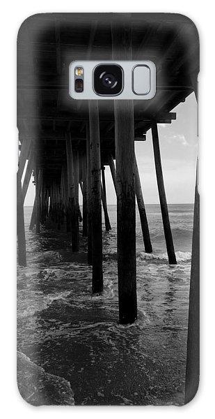 A Day At Virginia Beach #2 Galaxy Case by Rebecca Davis