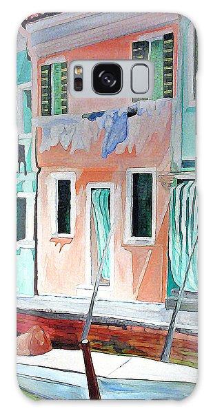 A Day In Burrano Galaxy Case by Patricia Arroyo