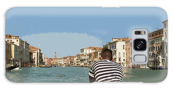 A Day In Venice Galaxy Case