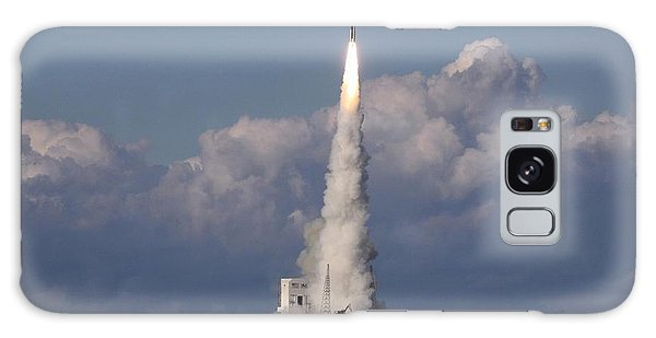 A Delta Iv Rocket Soars Into The Sky Galaxy Case