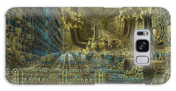 A Digital El Dorado Galaxy Case
