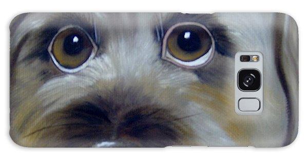 A Dog's Love Galaxy Case