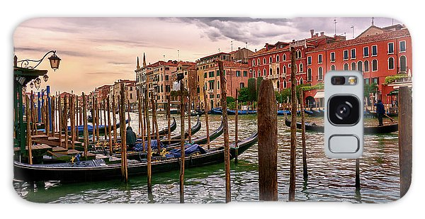 Surreal Seascape On The Grand Canal In Venice, Italy Galaxy Case