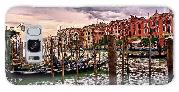Vintage Buildings And Dramatic Sky, A Dreamlike Seascape In Venice Galaxy Case