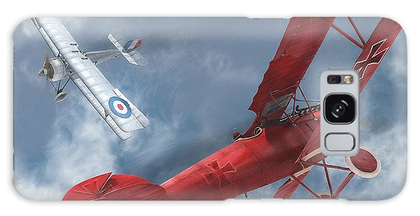 A Duel Begins - The Red Baron Galaxy Case by David Collins
