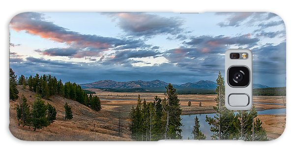 A Fall Evening In Hayden Valley Galaxy Case by Steve Stuller