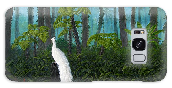 Galaxy Case - A Fantasy In White by Mark Junge