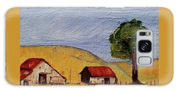 A Farm In California Winecountry Galaxy Case