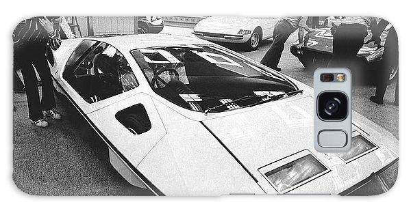 1972 Galaxy Case - A Ferrari Modulo At Auto Show by Underwood Archives