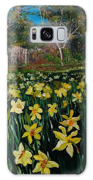 A Field Of Daffodils Galaxy Case