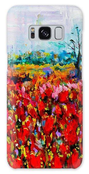 A Field Of Flowers # 2 Galaxy Case