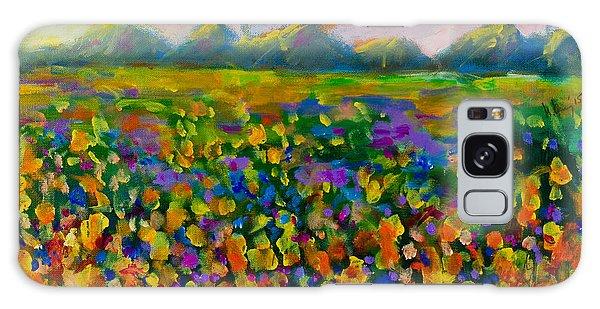 A Field Of Flowers #1 Galaxy Case