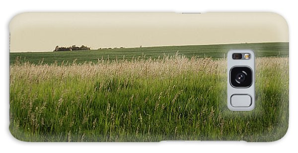 Galaxy Case featuring the photograph A Field Of Grass by Sandy Adams