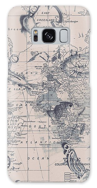 Navigation Galaxy Case - A Fishermans Map by Jorgo Photography - Wall Art Gallery