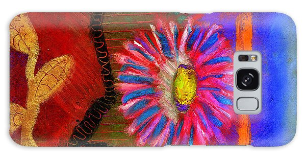 A Flower For You Galaxy Case by Angela L Walker